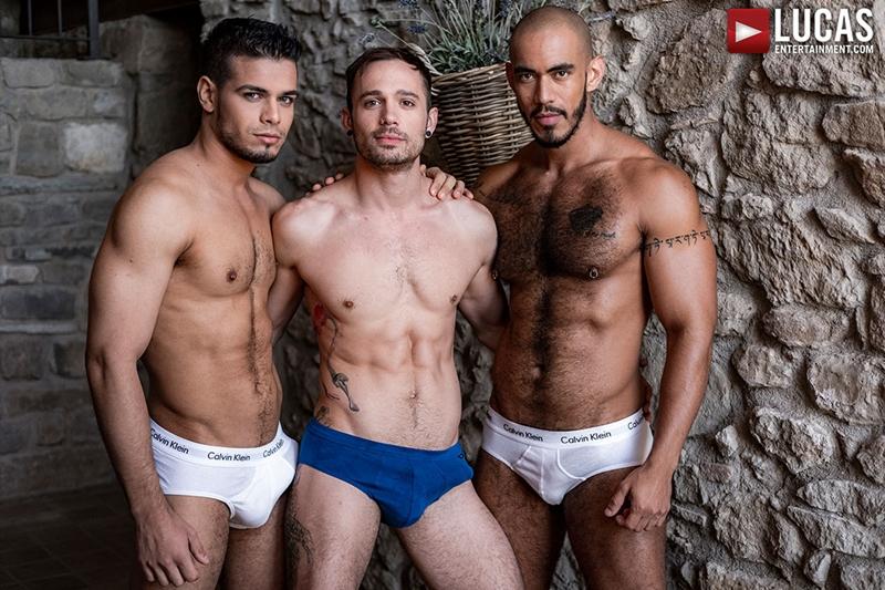 Rico Marlon, Louis Ricaute and Drake Rogers